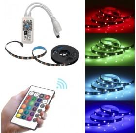 BRELONG Smart APP WiFi SMD5050 RGB Epoxy Waterproof Light Strip 1 Meter 30LED